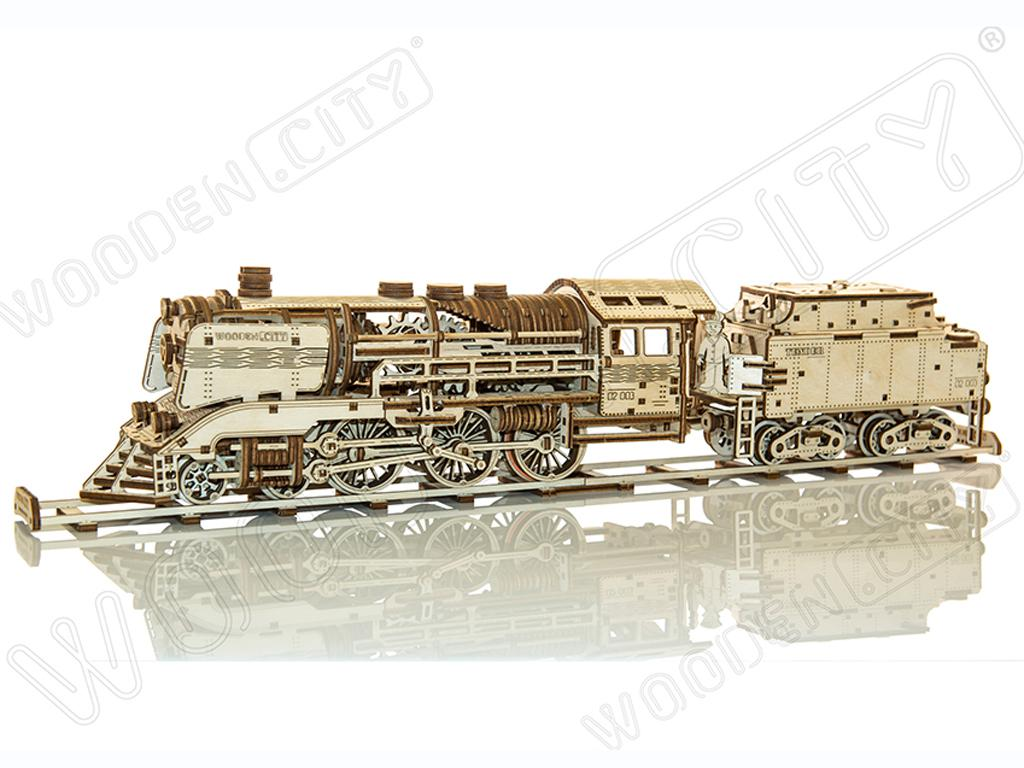 Express & Tender with Rails scale  (Vista 4)