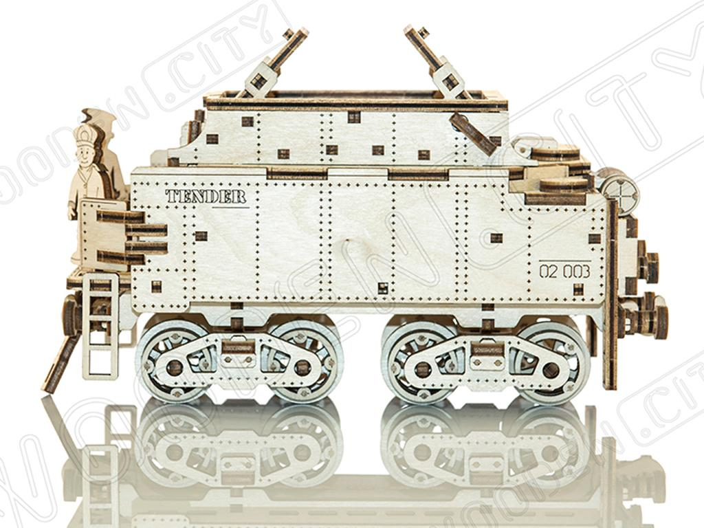 Express & Tender with Rails scale  (Vista 5)