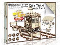 Tranvía con raíles (Vista 9)