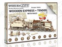 Express & Tender with Rails scale  (Vista 10)