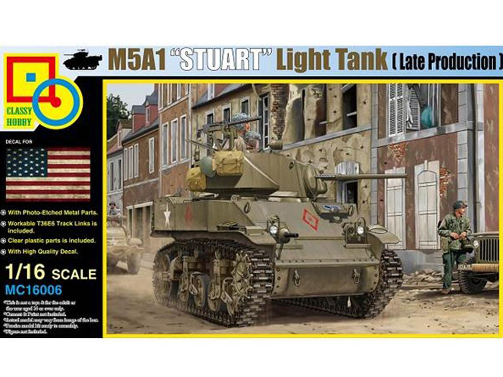 M5A1 Stuart (Vista 1)