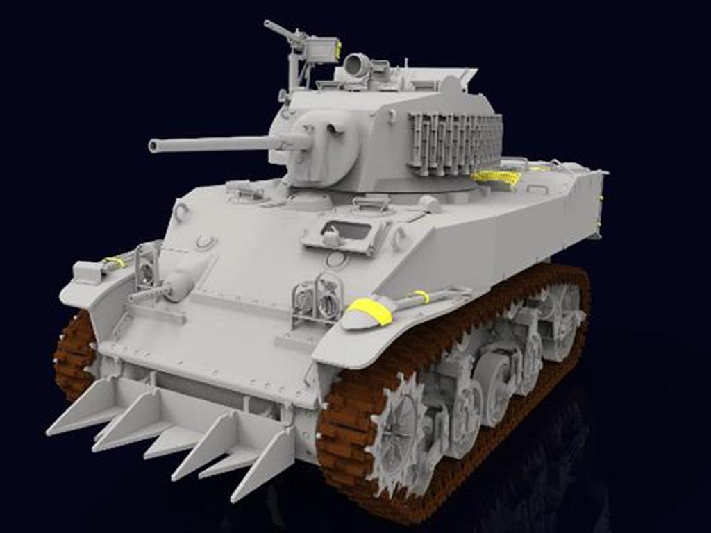 M5A1 Stuart (Vista 3)