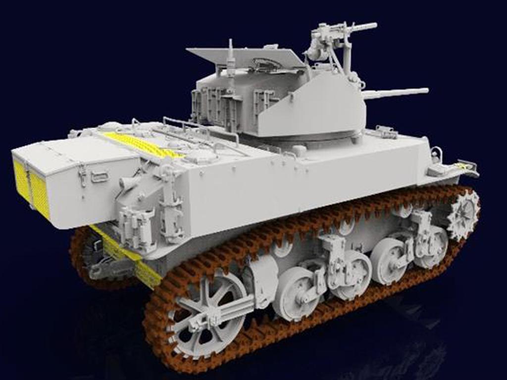M5A1 Stuart (Vista 4)