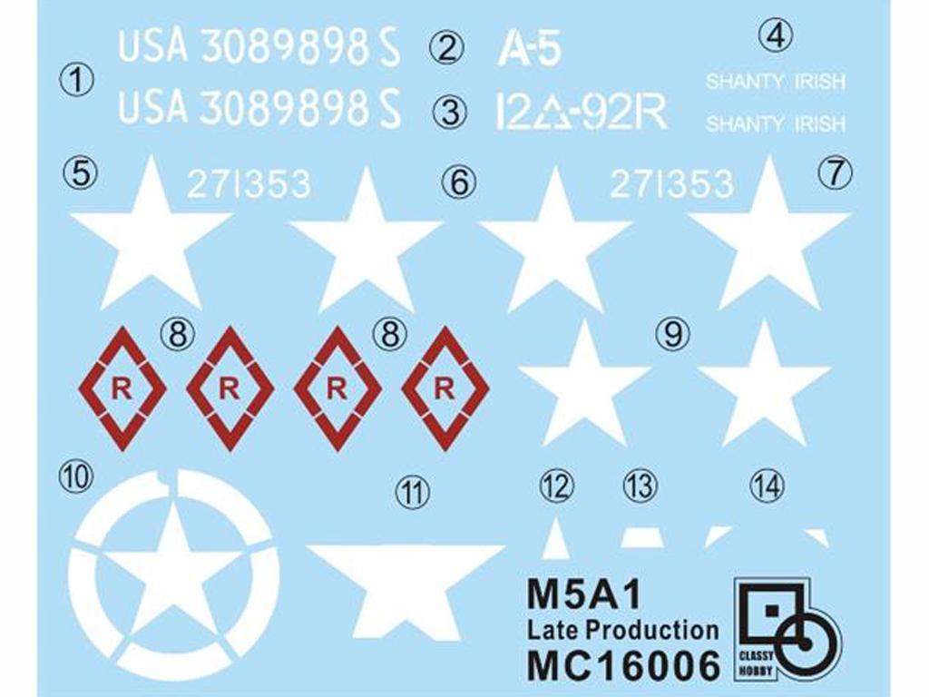 M5A1 Stuart (Vista 5)