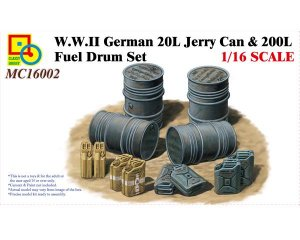 German 20L Jerry Can & 200L Fuel Drum Se  (Vista 1)