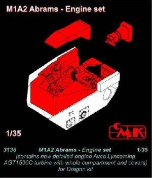 M1A2 Abrams Motor  (Vista 1)