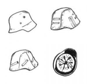 Cascos Alemanes  (Vista 1)