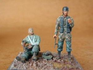 Paracaidistas Alemanes  (Vista 1)