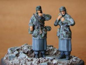 Infanteria Alemana en las Ardennes  (Vista 1)