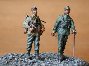 Tropas Alemanas de Montaña - Gebirgsjäge  (Vista 1)