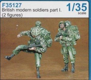 Soldados Britanicos Modernos  (Vista 1)
