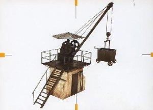 Grua ferroviaria  (Vista 1)