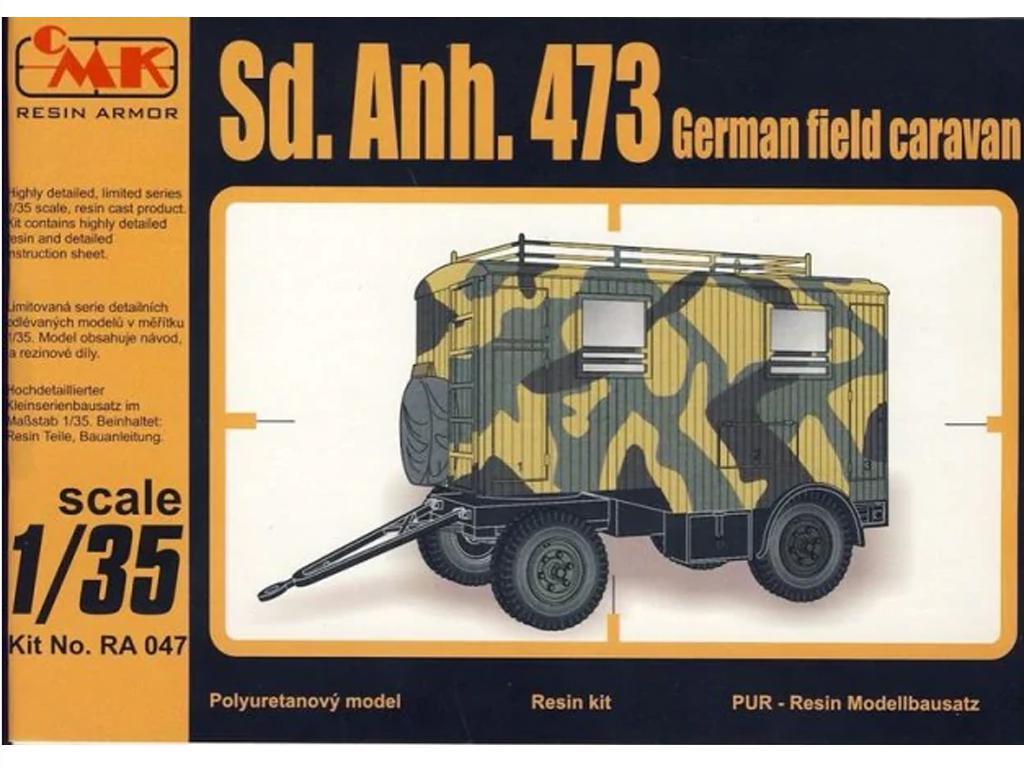 Sd.Anh.473 Caravana de campo alemana (Vista 1)