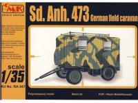 Sd.Anh.473 Caravana de campo alemana (Vista 2)