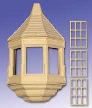 Balcon cubierto para edificio urbano  (Vista 1)