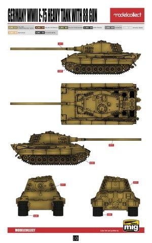E-75 Heavy Tank with 88 Gun  (Vista 2)