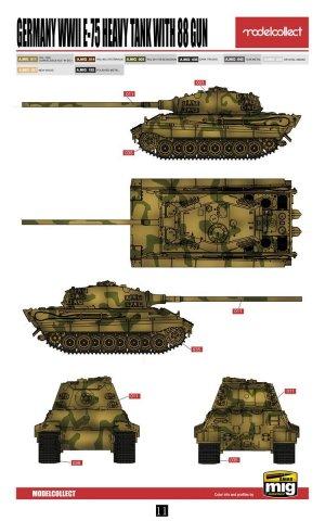 E-75 Heavy Tank with 88 Gun  (Vista 3)