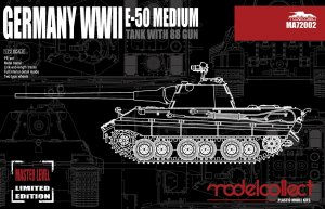 E-50 Medium Tank with 88 Gun  (Vista 1)