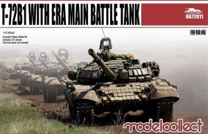 T-72B1 with ERA main battle tank  (Vista 1)