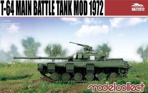 T-64 main battle tank model 1972  (Vista 1)