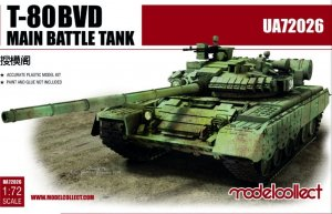 T-80BVD Main Battle Tank  (Vista 1)