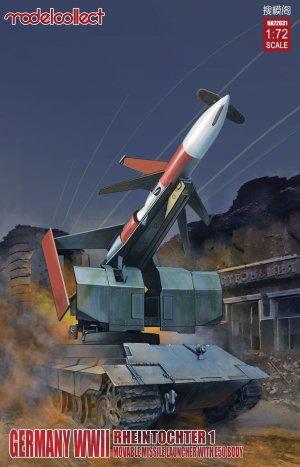 Rheintochter 1 movable Missile launcher   (Vista 1)