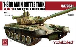 T-80B Main Battle Tank Ultra Ver. 3 in 1  (Vista 1)