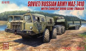 Soviet/Russian Army MAZ-7410 with ChMZAP  (Vista 1)
