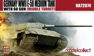 E-50 Medium Tank with 88 gun large turre  (Vista 1)