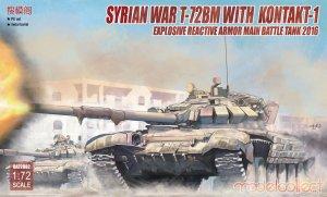 Syrian War T-72BM with Kontakt-1  (Vista 1)