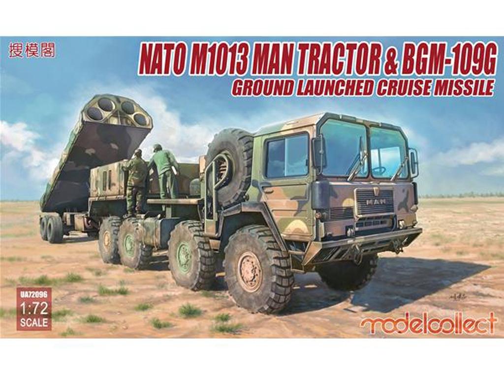 Nato M1001 MAN Tractor & BGM-109G  (Vista 1)