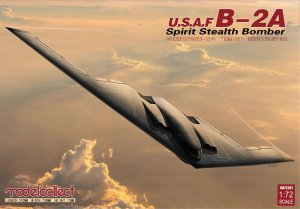USAF B-2A Spirit Stealth strategic Bombe  (Vista 1)