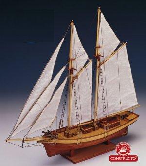 Pailebote Español 1850 Carmen  (Vista 1)