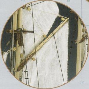 Pailebote Español 1850 Carmen  (Vista 4)
