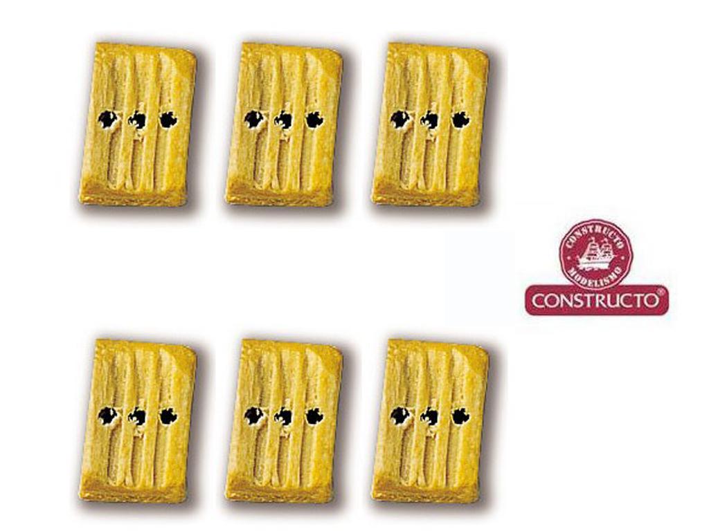 Cuadernales 3 Agujeros Boj 7 mm (Vista 1)