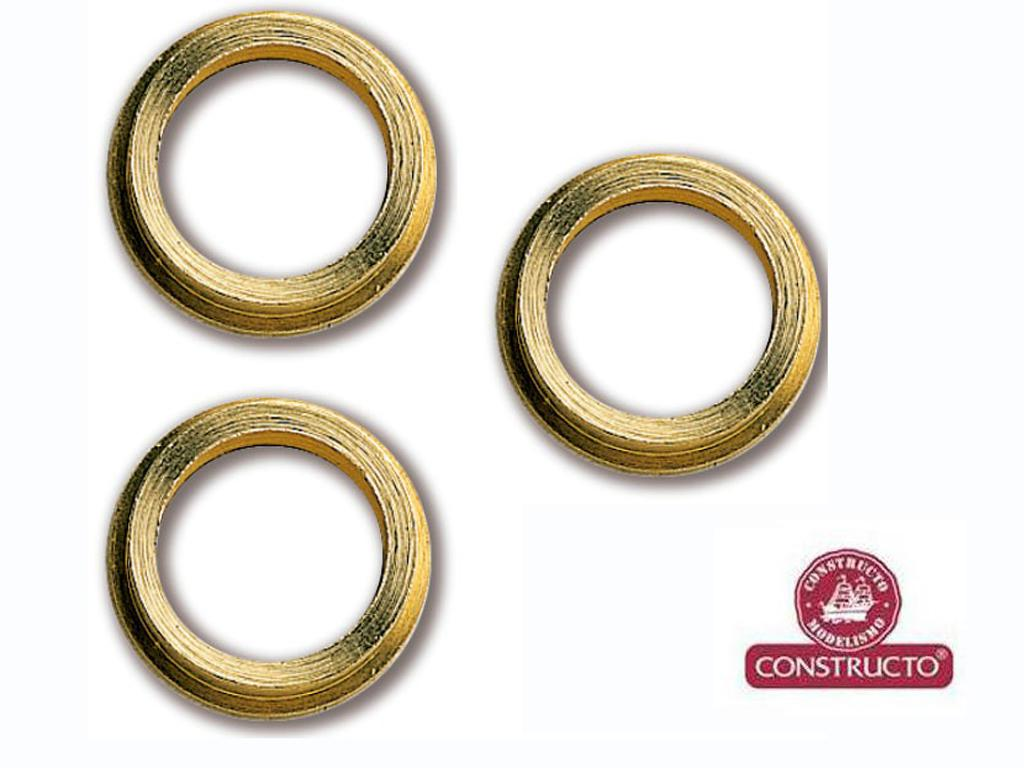 Ojos De Buey Latón 10 mm  (Vista 1)