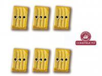 Cuadernales 3 Agujeros Boj 7 mm (Vista 2)