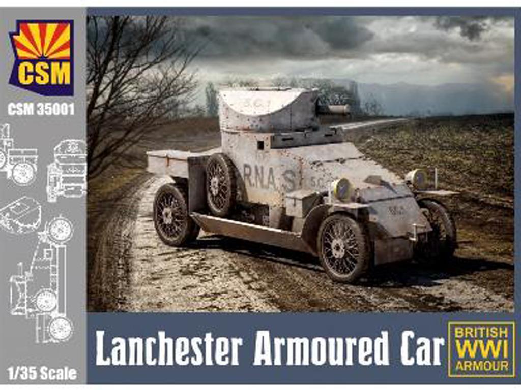 Lanchester Armoured Car (Vista 1)