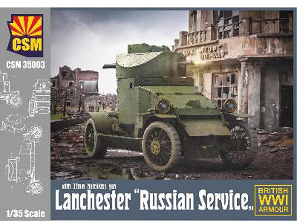 Lanchester Russian Service (Vista 1)