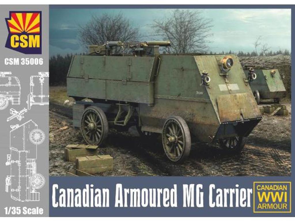Canadian Armoured Machine Gun Carrier (Vista 1)