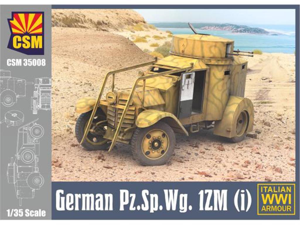 Italian Armoured car 1ZM (Vista 1)