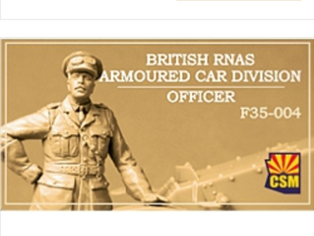 British RNAS Armoured Car Division Officer (Vista 1)