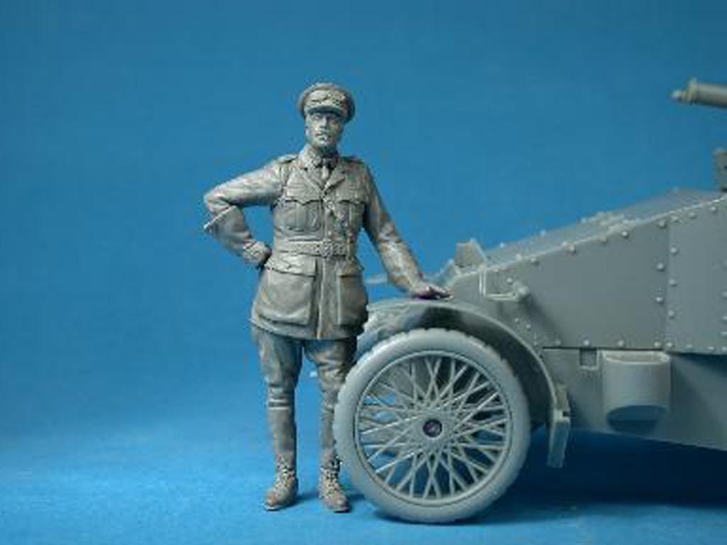 British RNAS Armoured Car Division Officer (Vista 2)