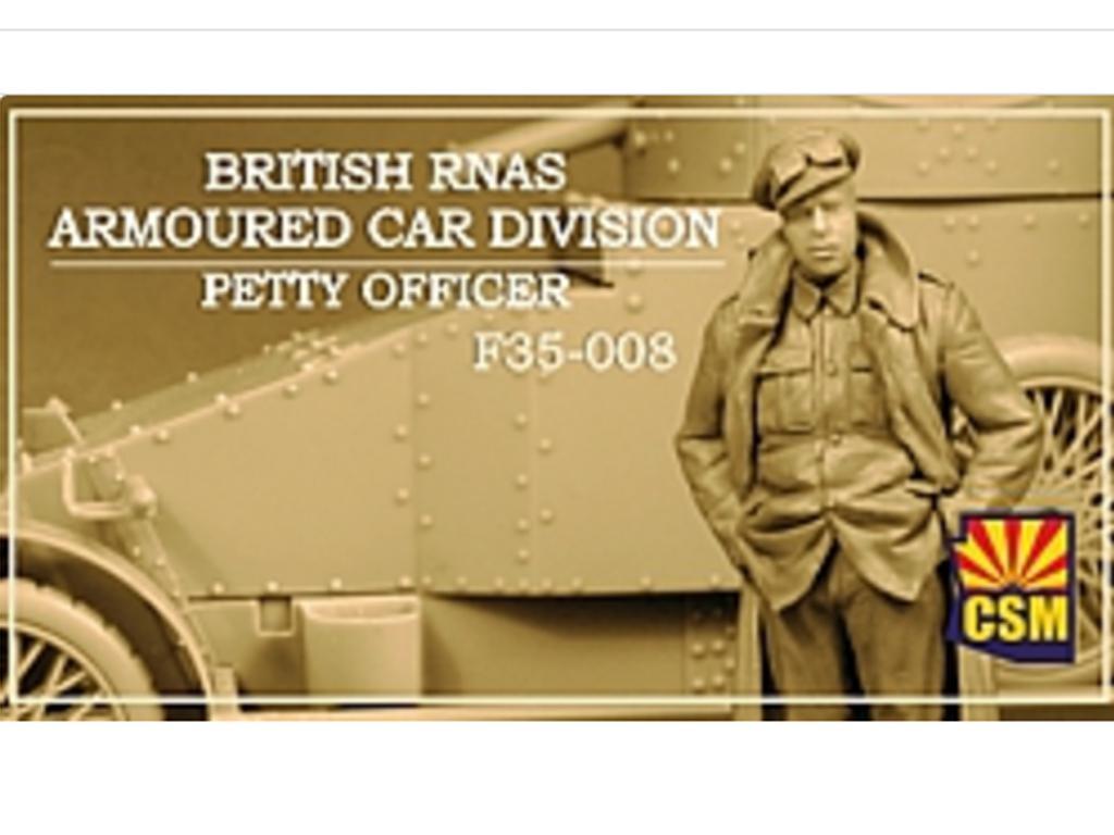 British RNAS Armoured Car Division Petty Officer (Vista 1)