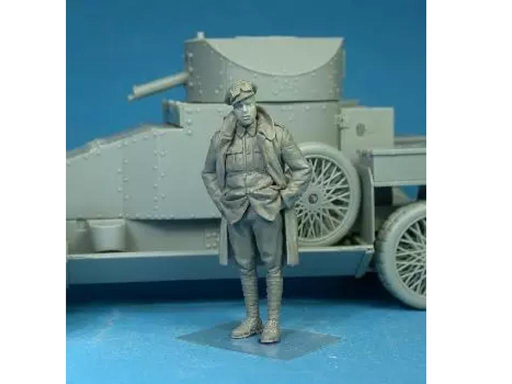 British RNAS Armoured Car Division Petty Officer (Vista 2)