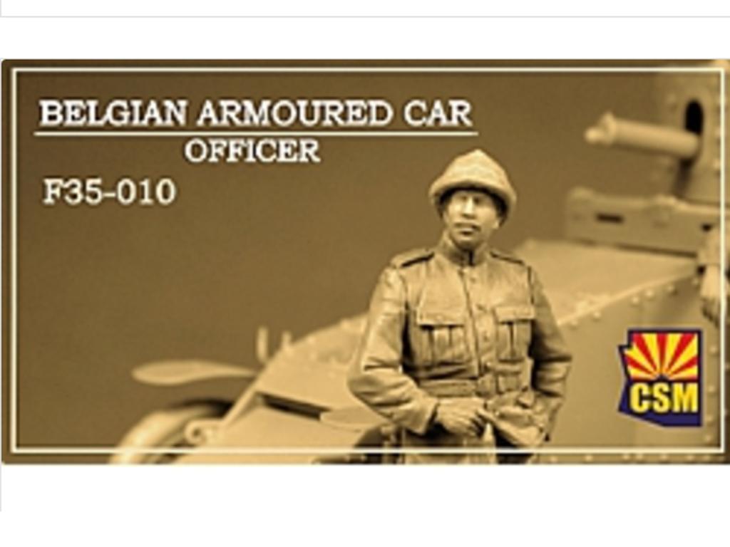 Belgian Armoured car officer (Vista 1)