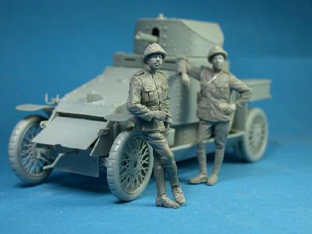 Belgian Armoured car officer (Vista 2)
