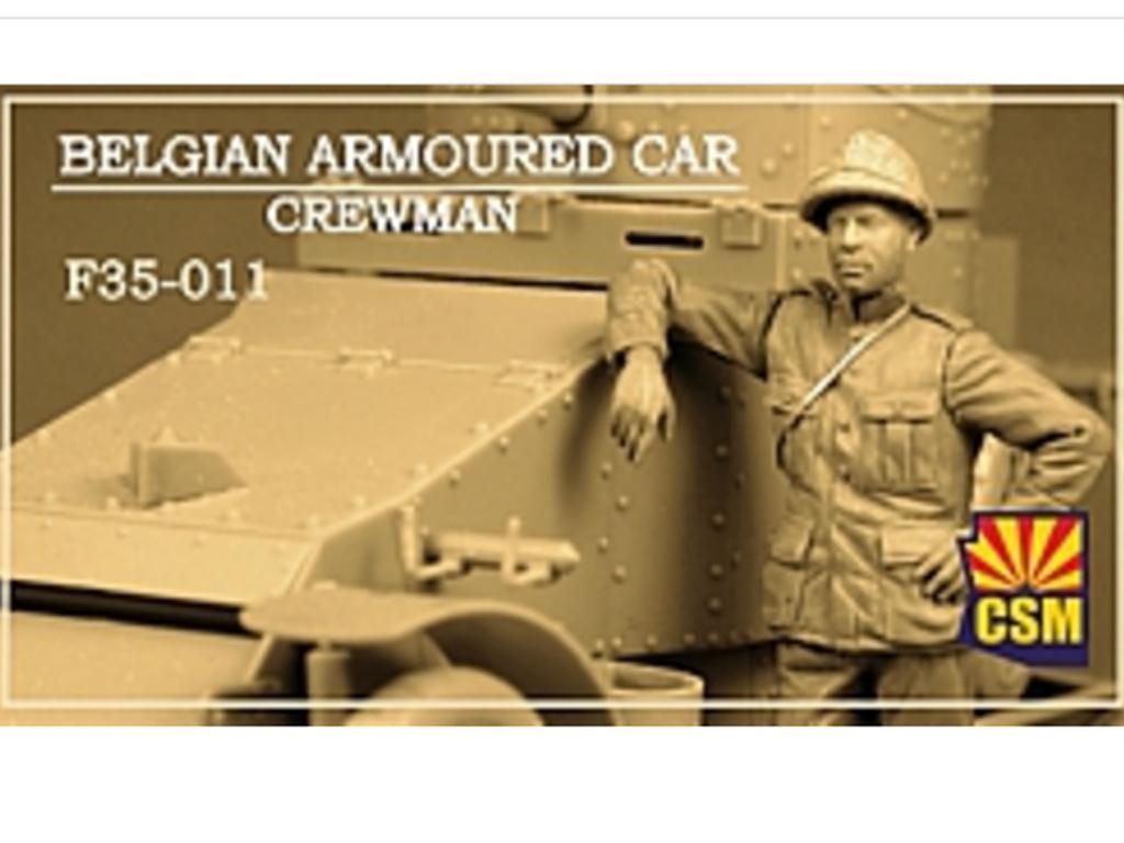 Belgian Armoured car crewman (Vista 1)