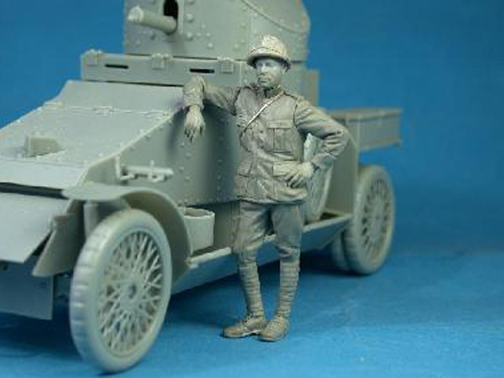 Belgian Armoured car crewman (Vista 2)
