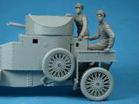British RNAS Armoured Car Division Crewman Observing (Vista 4)